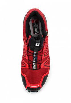 Кроссовки Salomon                                                                                                              красный цвет