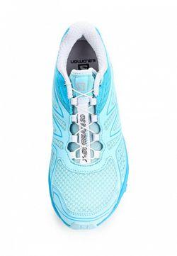 Кроссовки Salomon                                                                                                              голубой цвет