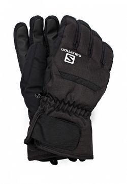 Перчатки Salomon                                                                                                              черный цвет