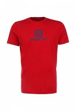 Футболка Salomon                                                                                                              красный цвет