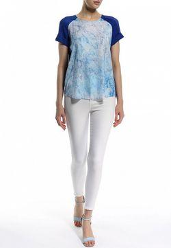 Блуза Salsa                                                                                                              синий цвет