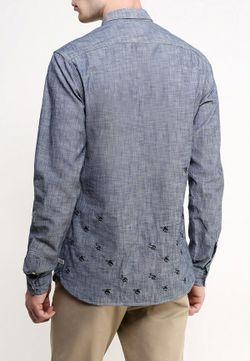 Рубашка Scotch&Soda                                                                                                              синий цвет