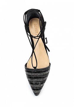 Туфли SCHUTZ                                                                                                              черный цвет