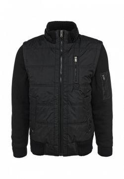 Куртка Утепленная Sela                                                                                                              чёрный цвет
