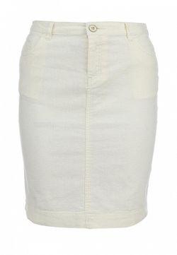 Юбка Sela                                                                                                              белый цвет