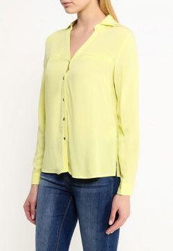 Блуза Sela                                                                                                              желтый цвет