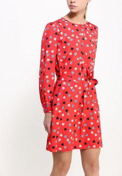 Платье See By Chloe                                                                                                              красный цвет