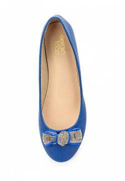 Балетки Sergio Todzi                                                                                                              синий цвет