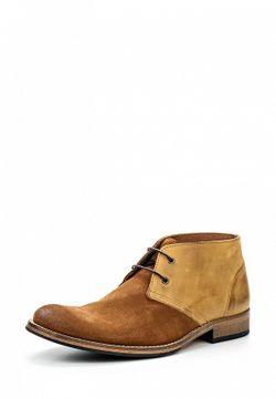 Ботинки Selected Homme                                                                                                              коричневый цвет