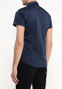 Рубашка Sisley                                                                                                              синий цвет