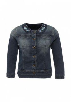 Куртка Джинсовая Sisley                                                                                                              синий цвет