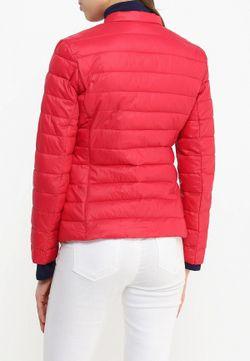 Куртка Утепленная Sisley                                                                                                              красный цвет