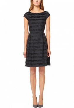 Платье s.Oliver Premium                                                                                                              синий цвет