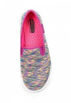 Слипоны Skechers                                                                                                              многоцветный цвет