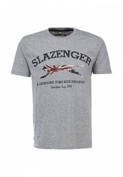 Футболка Slazenger                                                                                                              серый цвет