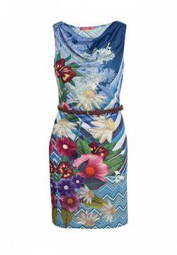 Платье Smash                                                                                                              синий цвет