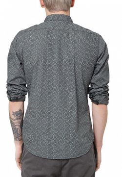 Рубашка s.Oliver Denim                                                                                                              серый цвет