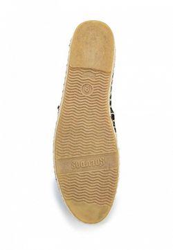 Эспадрильи Soludos                                                                                                              чёрный цвет