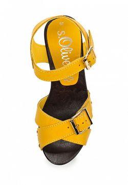 Босоножки s.Oliver                                                                                                              желтый цвет