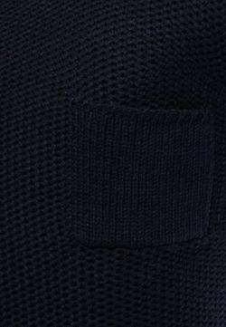 Джемпер Solid                                                                                                              синий цвет