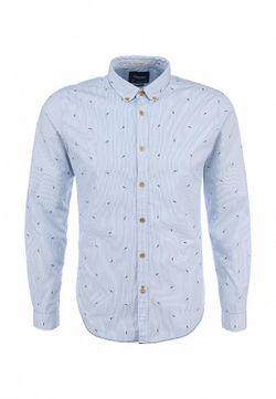 Рубашка Springfield                                                                                                              голубой цвет