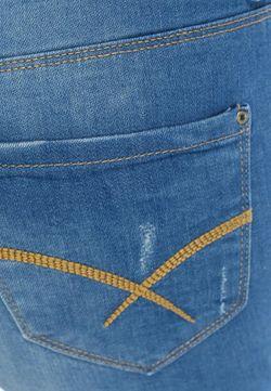 Шорты Джинсовые Springfield                                                                                                              синий цвет