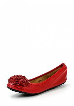 Балетки Stephan                                                                                                              красный цвет