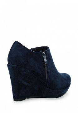 Ботильоны Style Shoes                                                                                                              синий цвет