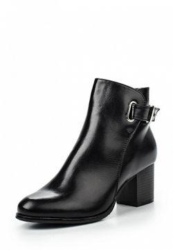 Ботильоны Style Shoes                                                                                                              черный цвет