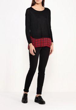 Джемпер Stella                                                                                                              черный цвет