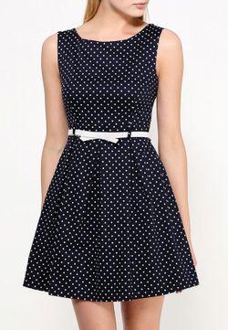Платье Caroline Morgan                                                                                                              синий цвет