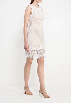 Платье Stella                                                                                                              бежевый цвет