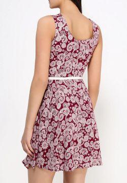Платье Stella                                                                                                              красный цвет