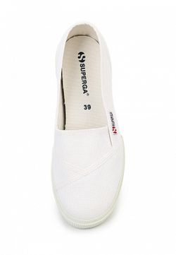 Слипоны Superga                                                                                                              None цвет