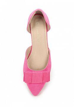 Балетки SWEET SHOES                                                                                                              розовый цвет