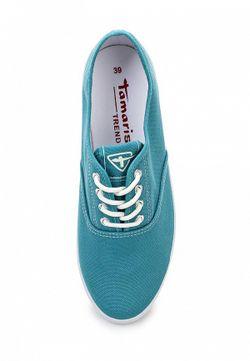 Кеды Tamaris                                                                                                              голубой цвет