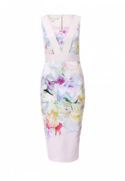 Платье Ted Baker London                                                                                                              многоцветный цвет