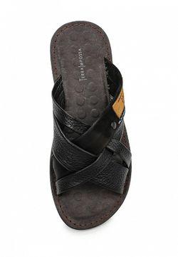 Шлепанцы Terra Impossa                                                                                                              чёрный цвет