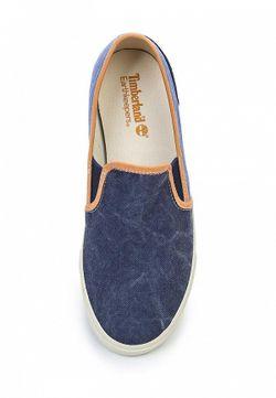 Слипоны Timberland                                                                                                              синий цвет