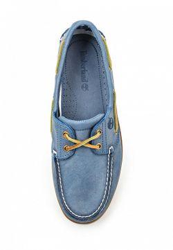 Топсайдеры Timberland                                                                                                              синий цвет