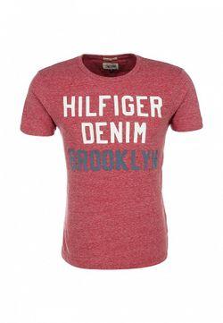 Футболка Tommy Hilfiger Denim                                                                                                              красный цвет