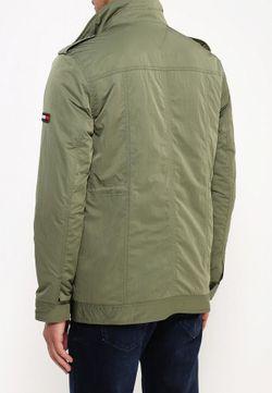 Куртка Утепленная Tommy Hilfiger Denim                                                                                                              хаки цвет