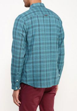 Рубашка Tommy Hilfiger Denim                                                                                                              зелёный цвет