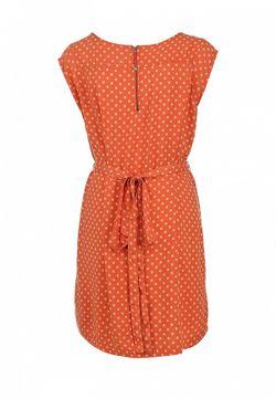 Платье Tommy Hilfiger                                                                                                              оранжевый цвет