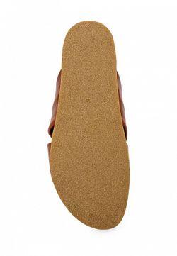 Шлепанцы Topshop                                                                                                              коричневый цвет