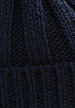 Шапка Topshop                                                                                                              синий цвет