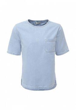Футболка Topman                                                                                                              голубой цвет