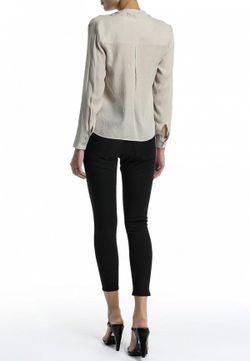 Блуза Topshop                                                                                                              серый цвет