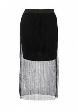 Юбка Topshop                                                                                                              черный цвет