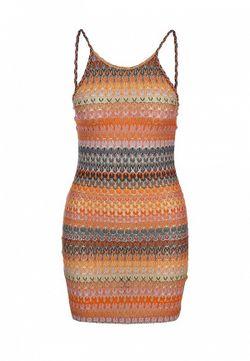 Платье Topshop                                                                                                              оранжевый цвет
